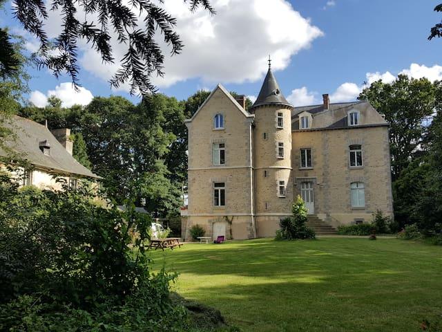 Un Château au prix d'une Maison 6ch/13p +(opt4 ch)
