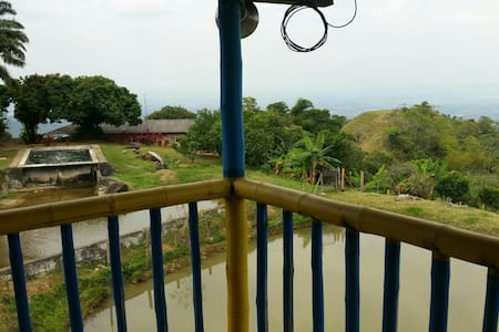 Casa finca el paraiso la naturalesa - La Voragine - Huis