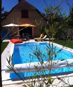 Maison moderne, calme avec piscine - Saint-Julien-les-Villas