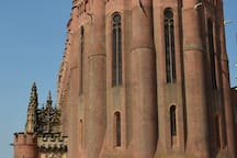 Albi cathedral built in the 1480's