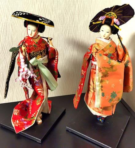 清水五条徒歩1分 バス1分 侍・舞妓など伝統日本文化が溢れている - Shimogyō-ku, Kyōto-shi - Lägenhet