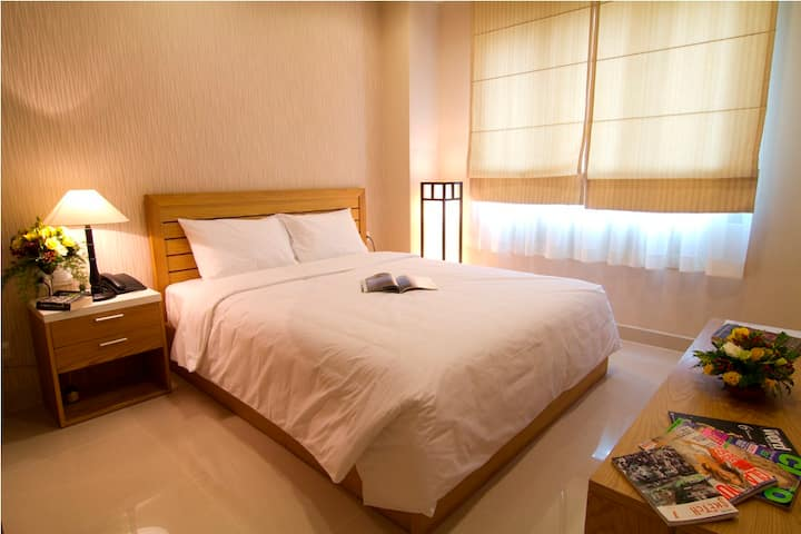 37m2 1-Bedroom Serviced Apartment in Ho Chi Minh
