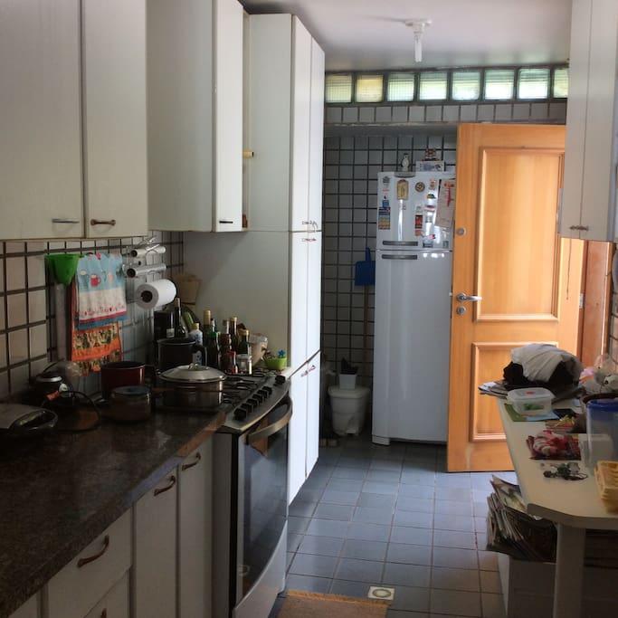 Cozinha - área comum