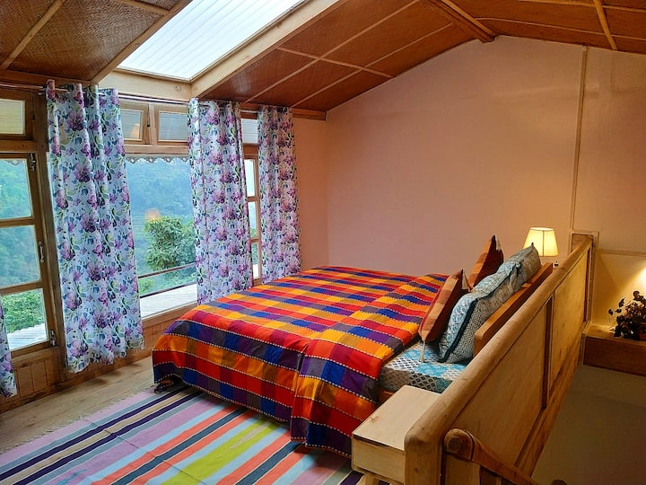 Duplex farm cottage with mountain view - Alder