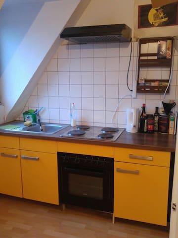 Großzügige Räume 28 + 16qm im schönen Kölner Süden