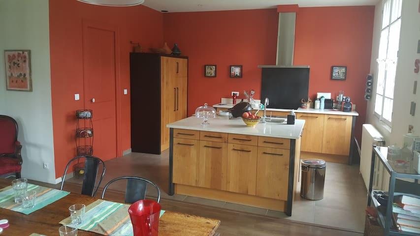 Cuisine-salle à manger