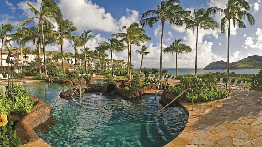 3 Bedroom 3 Bath Marriott's Kauai Lagoons - Kalanipuʻu, Lihue, Kauai, Hawaii