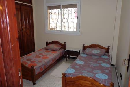 Appart spacieux, ensoleillé, équipé centre kénitra - Kénitra - Apartmen