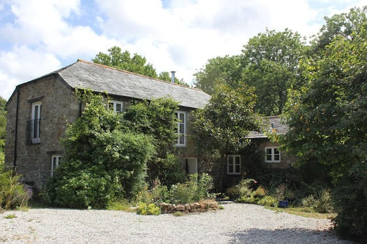 Idyllic mill near Port Isaac with wonderful garden - Saint Kew - House