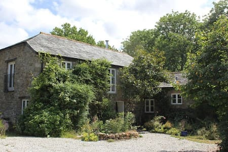 Idyllic mill near Port Isaac with wonderful garden - Saint Kew
