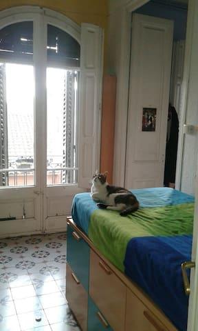 Habitaciones con mucha luz - Barcelona - Rumah
