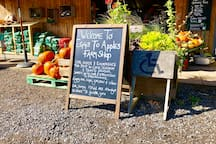 Local farm shop, great for breakfast