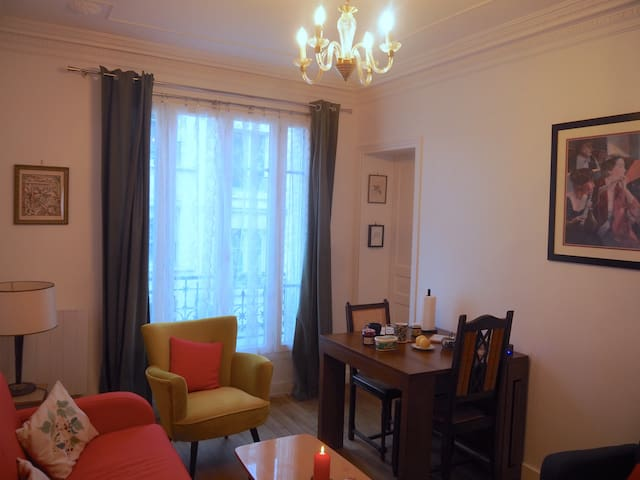 Comfortable appartment near Mouffetard market