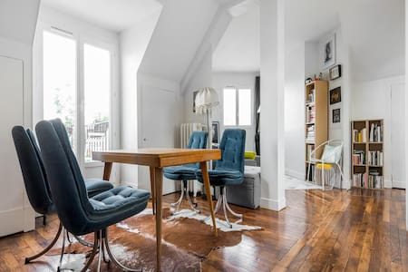 Beautiful attic apartment with a view. - Parijs