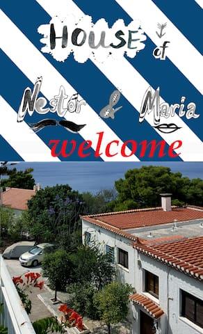 Spetses island (Ikismos Ligoneri) - Spetses - Hus