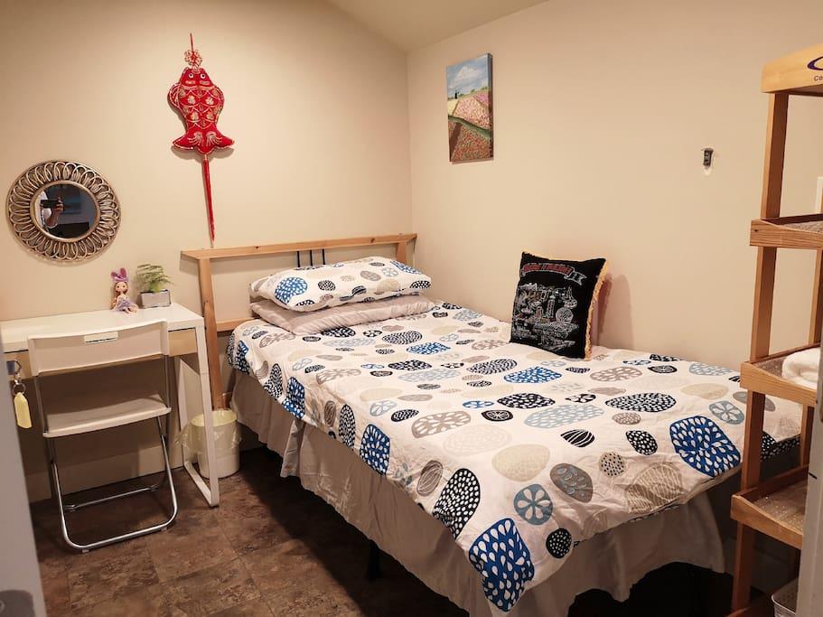 Cozy den room