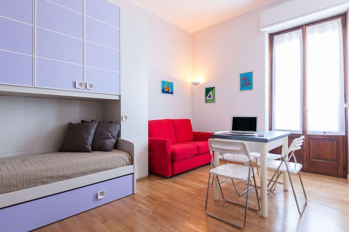 Studio Flat in Città Studi - Milán - Apto. en complejo residencial