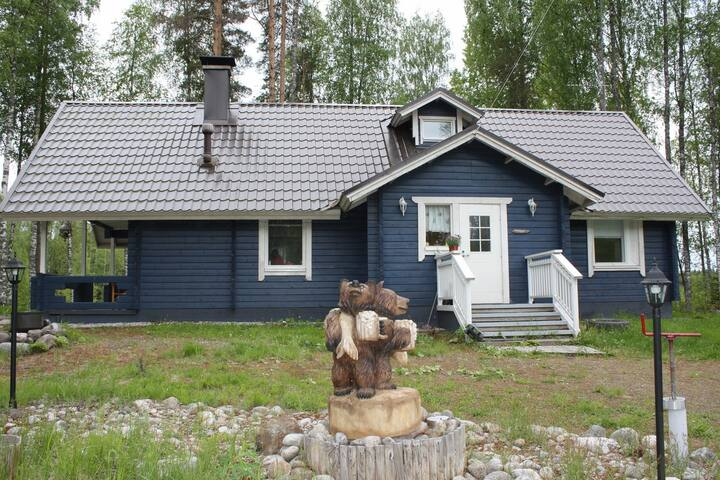 Cottage on your own small island - Mikkeli - House