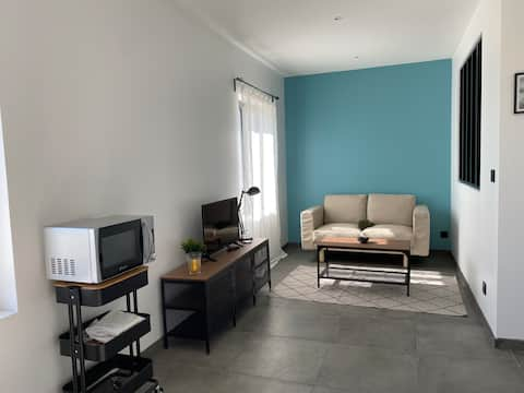Appartement dans maison indépendante