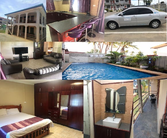 One bedroom Apartment including rental car