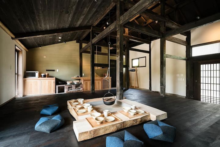A Traditional Japanese house with a garden in an old Castletown, Obi, Miyazaki Prefecture★伝統的な日本家屋の上質な一棟貸し(合屋邸)