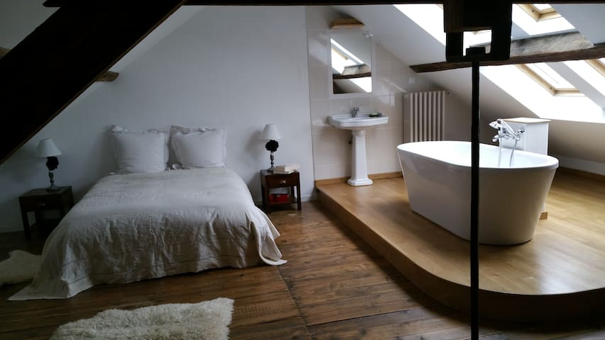 Jolie chambre proche Nancy et gare  - Laxou - Bed & Breakfast