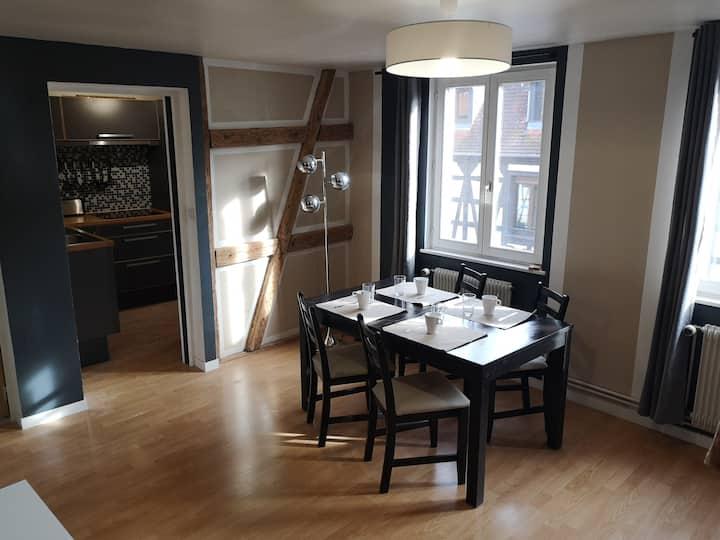 Appartement de charme au centre ville d'Obernai