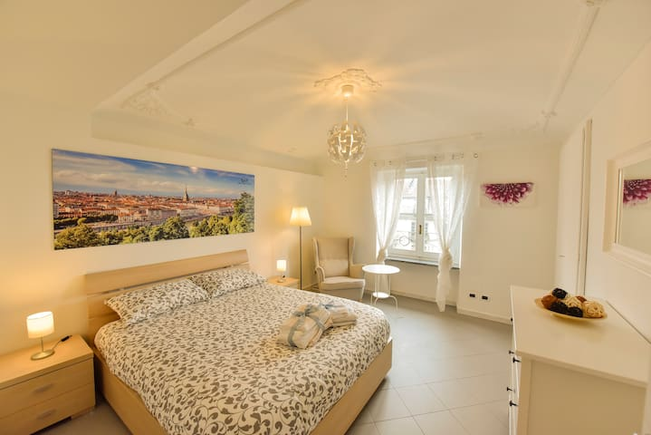 Lovely room (SPRING) to 50m to Porta Susa Station