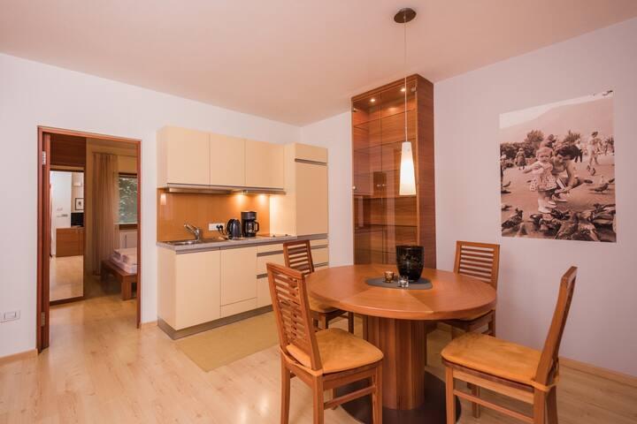 Kuscheliges Apartment, kleiner Südbalkon, Services