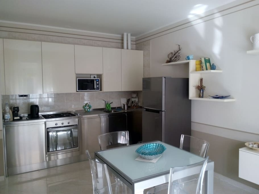 Cucina/Soggiorno - Kitchen/Living