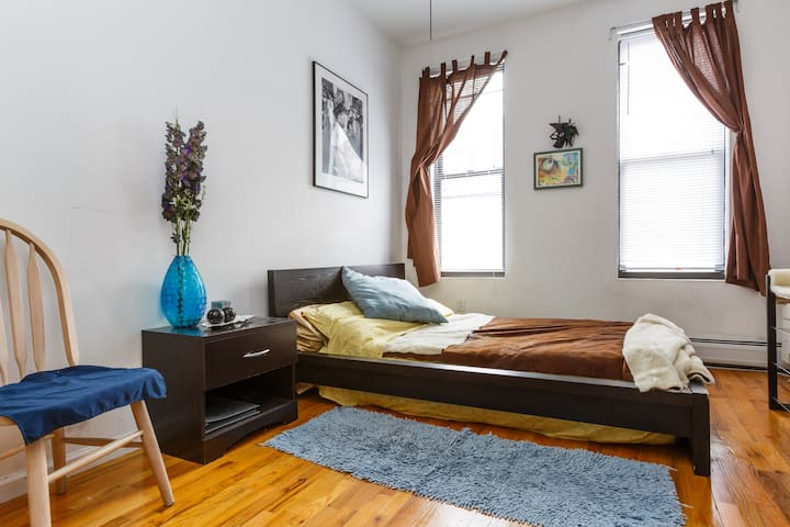 Bedroom #1  - decor that makes the atmosphere and helps you feel cozy