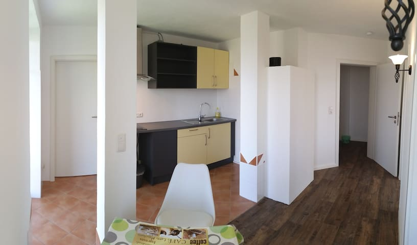 """Landhaus Apartment """"Seerose II"""" zwei Einzelzimmern - Wolnzach - Wohnung"""