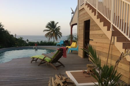 F3 vue mer Tartane proche plage - La Trinité