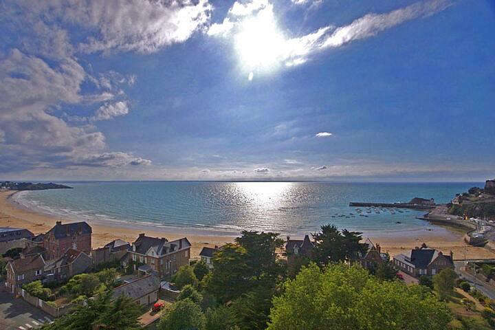 Belle maison vue mer
