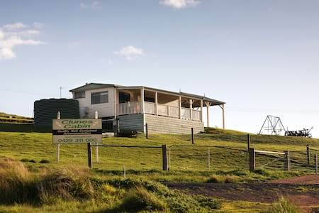 Clunes Cabins - Fireplace, Linen, BBQ and Deck - Clunes