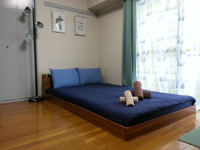 【 HOT!】Ueno 2mins‼Cozy Room in ueno Town:FREE WIFI - Taitō-ku - Appartement