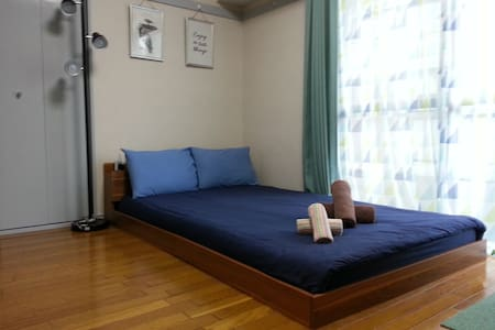 【 HOT!】Ueno 2mins‼Cozy Room in ueno Town:FREE WIFI - Taitō-ku - Lejlighed