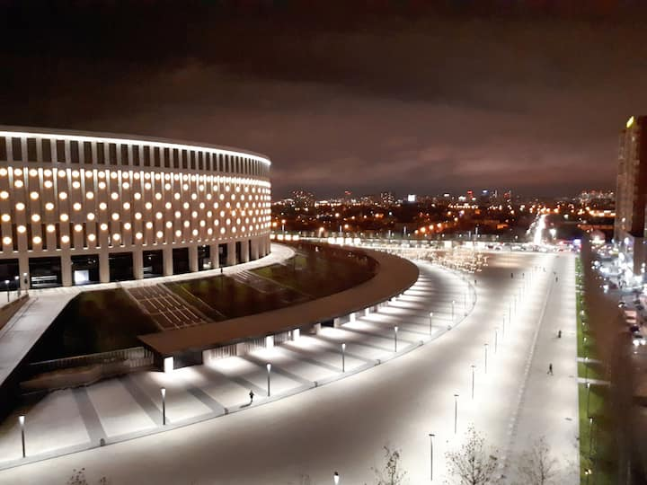 Квартира с прекрасным видом на Стадион Краснодар