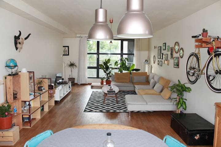 Cosy and trendy flat in St Cathrine - Bruxelles - Apartament
