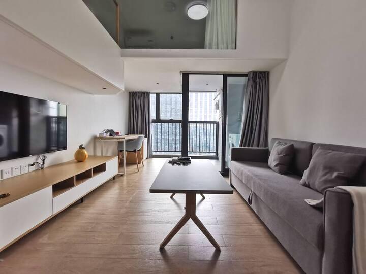 【素家静悦】复式公寓#次卧#华为基地#龙岗坂田#地铁交通步行即达