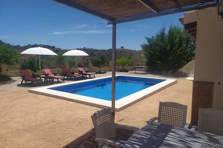 Casa el Moral, with wifi, air conditioning, pool and jacuzzi