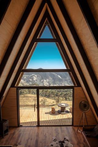 Cabana de montanha em São Bento do Sapucai