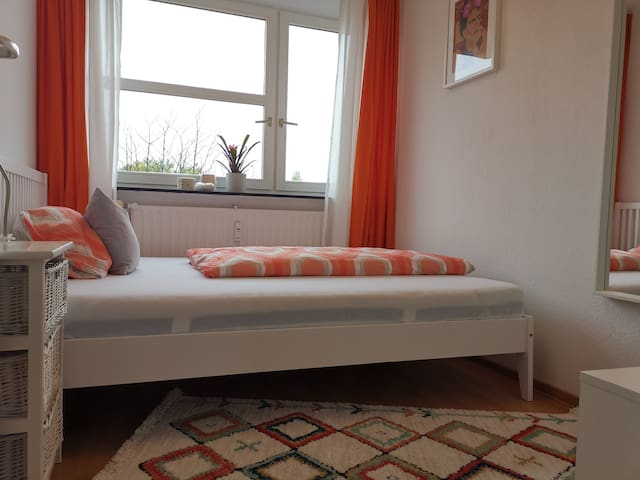 All new! Quiet and clean room centrally located