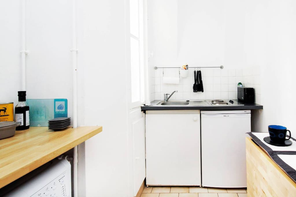 The separate Kitchen