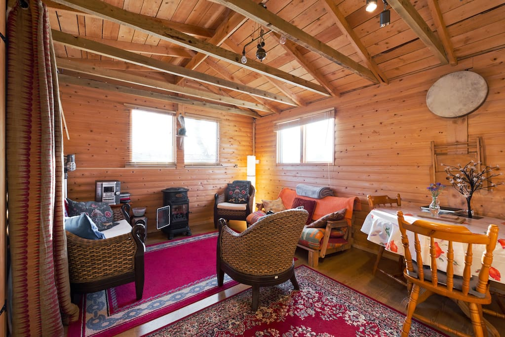 Co wicklow country cabin chalet in affitto a for Cabine in affitto nel parco invernale colorado
