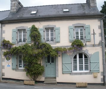 Les Glycines B&B- The White Room - Huelgoat - Bed & Breakfast