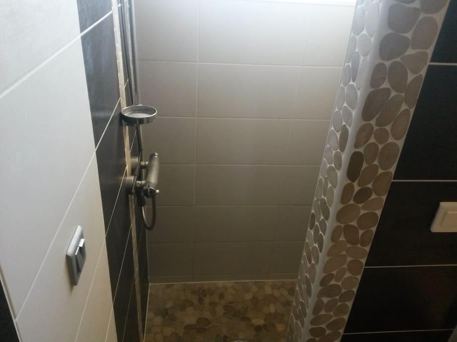 La douche à l'italienne intégrée
