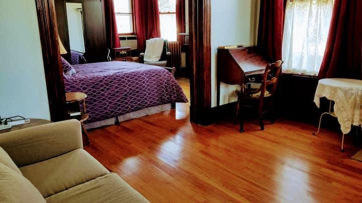 Elegant Comfort in a Suite Overlooking the Hudson