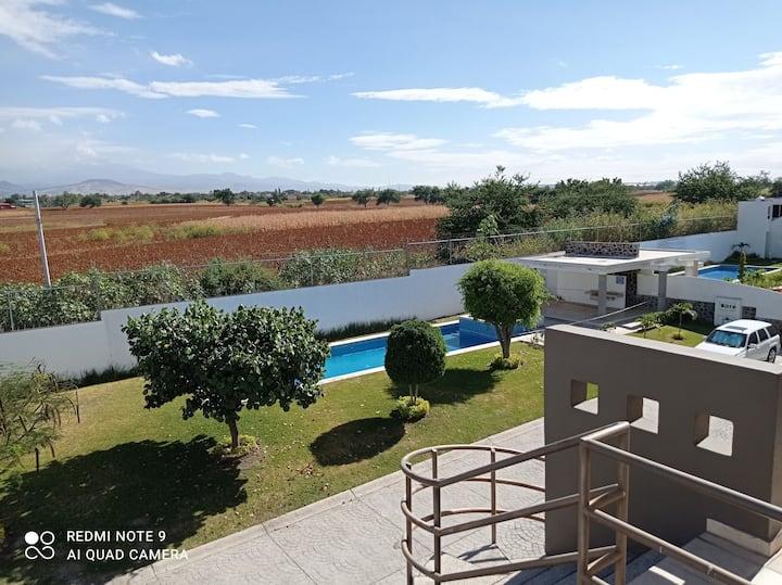 Departamento & rooff garden cuautla