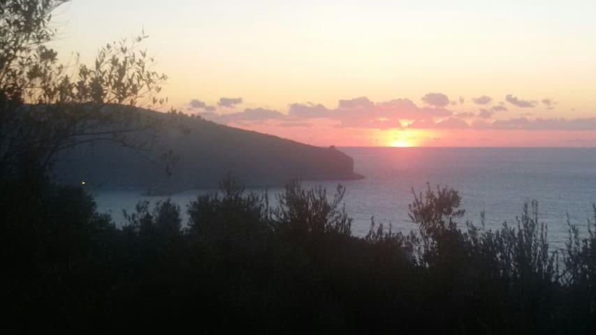 Casa vacanza panoramica a Palinuro